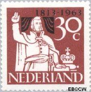 Nederland NL 810  1963 Onafhankelijkheid 30 cent  Gestempeld
