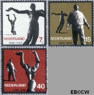 Nederland NL 836#838  1965 Verzet  cent  Gestempeld