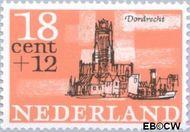 Nederland NL 844  1965 Steden 18+12 cent  Postfris