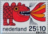 Nederland NL 915  1968 Sprookjesfiguren 25+10 cent  Gestempeld