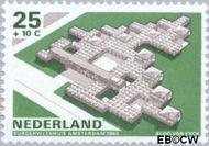 Nederland NL 923  1969 Architectuur 25+10 cent  Gestempeld