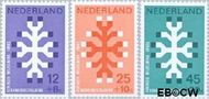 Nederland NL 927#929  1969 Kankerbestrijding  cent  Postfris