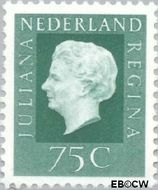 Nederland NL 949  1969 Koningin Juliana- Type 'Regina' 75 cent  Gestempeld