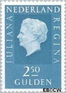 Nederland NL 956  1969 Koningin Juliana- Type 'Regina' 250 cent  Gestempeld