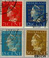 Nederland NL D16#D19  1940 Cour Permanente de Justice 30 cent  Gestempeld
