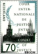 Nederland NL D51  1989 Cour Internationale de Justice 70 cent  Gestempeld