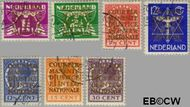 Nederland NL D9#D15  1934 Cour Permanente de Justice  cent  Gestempeld