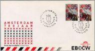 Nederland NL E138  1975 Amsterdam  cent  FDC zonder adres
