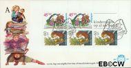 Nederland NL E189a  1980 Kind en boeken  cent  FDC zonder adres
