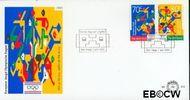 Nederland NL E310  1993 Jeugd Olympische Dagen  cent  FDC zonder adres