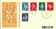Nederland NL E36  1958 Kinderspel   cent  FDC zonder adres