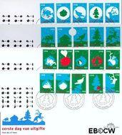 Nederland NL E395  1998 Kerstvoorstellingen  cent  FDC zonder adres