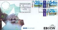 Nederland NL E453  2002 Euro-zegel  cent  FDC zonder adres