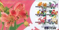 Nederland NL E480  2003 Aquarellen van bloemen  cent  FDC zonder adres