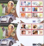 Nederland NL E483  2003 Persoonlijke postzegels- bijzonder  cent  FDC zonder adres
