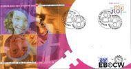 Nederland NL E487  2003 5 voor de kaart  cent  FDC zonder adres