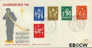 Nederland NL E49  1961 Feesten   cent  FDC zonder adres