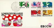 Nederland NL E93  1968 Sprookjesfiguren  cent  FDC zonder adres