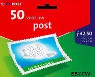 Nederland NL HB1989  2001 Vijftig voor uw post 85 cent  Postfris