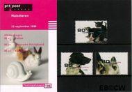 Nederland NL M196  1998 Huisdieren  cent  Postfris