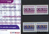 Nederland NL M256  2002 Zakenzegels  cent  Postfris