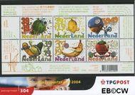 Nederland NL M304  2004 Lekker gezond  cent  Postfris