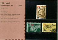 Nederland NL M54  1988 Dieren  cent  Postfris