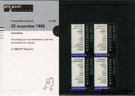 Nederland NL M98  1992 Kamp Westerbork  cent  Postfris