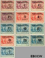 Nederland NL P31#P43  1907 Portzegel  cent  Gestempeld