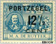 Nederland NL P39  1907 Portzegel 12½ op ½ cent  Gestempeld