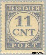 Nederland NL P75  1921 Portzegel 11 cent  Gestempeld