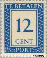 Nederland NL P89  1947 Portzegel 12 cent  Gestempeld