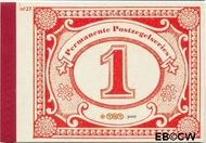 Nederland NL PR27  2009 Permanente postzegelseries  cent  Postfris