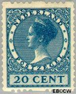 Nederland NL R13  1925 Type 'Veth' 20 cent  Gestempeld