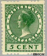Nederland NL R22  1926 Type 'Veth' 5 cent  Gestempeld