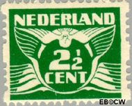 Nederland NL R3  1925 Type 'Lebeau' 2½ cent  Gestempeld
