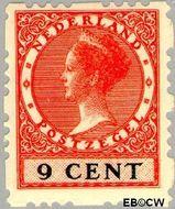 Nederland NL R44  1928 Type 'Veth' 9 cent  Gestempeld