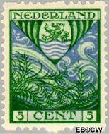 Nederland NL R75  1926 Wapens 5+3 cent  Gestempeld