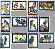 Nederlandse Antillen NA 1677#1688  2006 Vogels 500 cent  Postfris