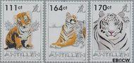 Nederlandse Antillen NA 1987#1989  2010 Jaar van de Tijger  cent  Postfris