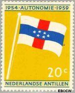 Nederlandse Antillen NA 305  1959 Koninkrijks Statuut 20 cent  Gestempeld