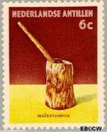 Nederlandse Antillen NA 325  1962 Voorwerpen 6 cent  Gestempeld