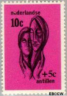 Nederlandse Antillen NA 386  1967 Sociaal en cultureel werk  cent  Gestempeld