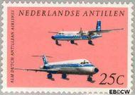 Nederlandse Antillen NA 406  1968 Vliegtuigen  cent  Gestempeld