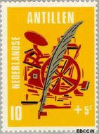 Nederlandse Antillen NA 426  1970 Media 10+5 cent  Gestempeld