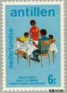 Nederlandse Antillen NA 486  1974 Verantwoord Ouderschap 6 cent  Gestempeld