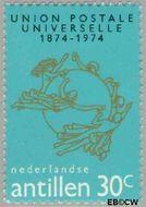 Nederlandse Antillen NA 496  1974 Wereldpostvereniging 30 cent  Gestempeld