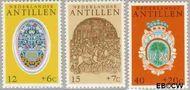 Nederlandse Antillen NA 503#505  1975 Ornamenten  cent  Gestempeld