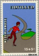 Nederlandse Antillen NA 596  1978 Kind en vrije tijd 15+5 cent  Gestempeld