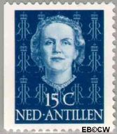 Nederlandse Antillen NA 606  1979 Type 'En Face' met diadeem 15 cent  Gestempeld